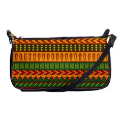 Mexican Pattern Shoulder Clutch Bags by Onesevenart
