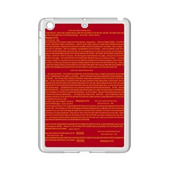 Mrtacpans Writing Grace Ipad Mini 2 Enamel Coated Cases by MRTACPANS