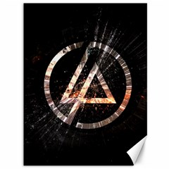 Linkin Park Logo Band Rock Canvas 36  X 48   by Zhezhe