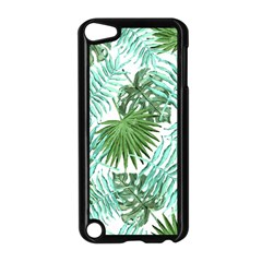 Tropical Pattern Apple Ipod Touch 5 Case (black) by ValentinaDesign