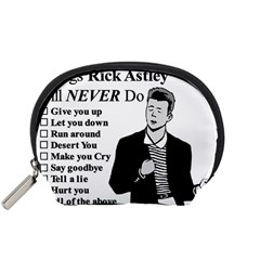 Rick Astley Accessory Pouches (small)  by Powwow