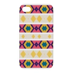 Rhombus And Stripes                           Apple Iphone 4/4s Hardshell Case