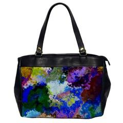 Color Mix Canvas                           Oversize Office Handbag