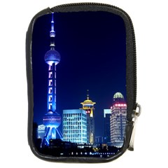 Shanghai Oriental Pearl Tv Tower Compact Camera Cases by BangZart
