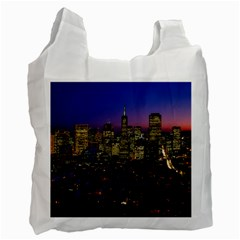 San Francisco California City Urban Recycle Bag (one Side) by Nexatart