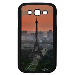 Paris France French Eiffel Tower Samsung Galaxy Grand Duos I9082 Case (black) by Nexatart