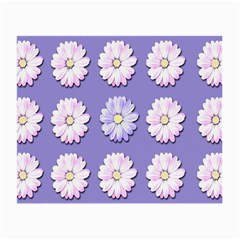 Daisy Flowers Wild Flowers Bloom Small Glasses Cloth (2 Side) by Nexatart