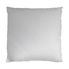 White Background Abstract Light Standard Cushion Case (one Side) by Nexatart