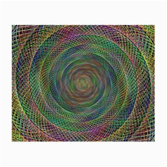 Spiral Spin Background Artwork Small Glasses Cloth (2 Side) by Nexatart