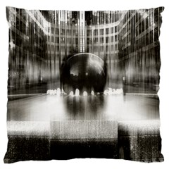 Black And White Hdr Spreebogen Large Cushion Case (one Side) by Nexatart