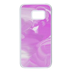 Pink Storm22 Samsung Galaxy S7 White Seamless Case by NSTP