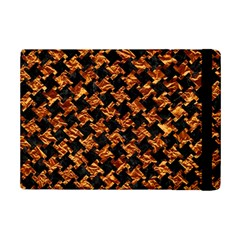 Houndstooth2 Black Marble & Copper Foil Ipad Mini 2 Flip Cases by trendistuff