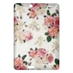 Pink And White Flowers  Amazon Kindle Fire Hd (2013) Hardshell Case by MaryIllustrations