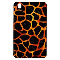 Skin1 Black Marble & Fire (r) Samsung Galaxy Tab Pro 8 4 Hardshell Case