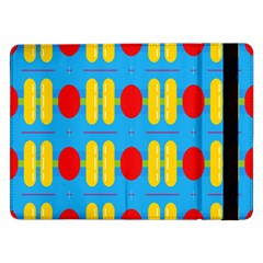 Ovals And Stripes Pattern                      Samsung Galaxy Tab Pro 10 1  Flip Case