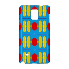 Ovals And Stripes Pattern                      Apple Iphone 6 Plus/6s Plus Leather Folio Case
