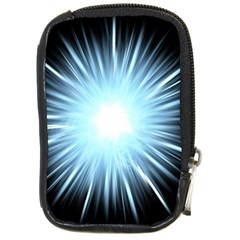 Bright Light On Black Background Compact Camera Cases by Mariart