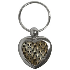 Art Deco Key Chains (heart)  by 8fugoso