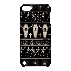 Halloween Pattern Apple Ipod Touch 5 Hardshell Case With Stand by ValentinaDesign