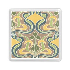 Art Nouveau Memory Card Reader (square)  by 8fugoso