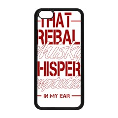 Fireball Whiskey Humor  Apple Iphone 5c Seamless Case (black) by crcustomgifts