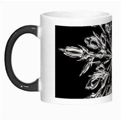Ice Crystal Ice Form Frost Fabric Morph Mugs by Onesevenart