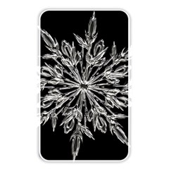 Ice Crystal Ice Form Frost Fabric Memory Card Reader by Onesevenart
