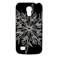 Ice Crystal Ice Form Frost Fabric Galaxy S4 Mini by Onesevenart