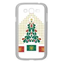 Christmas Tree Present House Star Samsung Galaxy Grand Duos I9082 Case (white) by Celenk