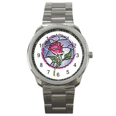 Beauty And The Beast Rose Sport Metal Watch