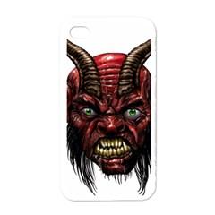 Krampus Devil Face Apple Iphone 4 Case (white)