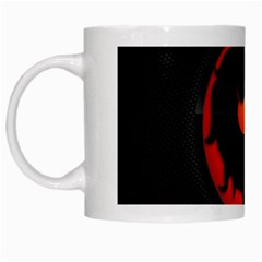 Dragon White Mugs