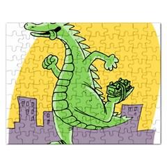 Dragon Rectangular Jigsaw Puzzl