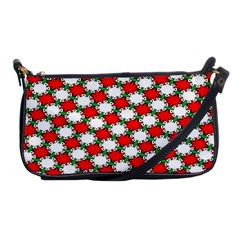 Christmas Star Red Green Shoulder Clutch Bags