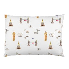 Graphics Tower City Town Pillow Case (two Sides)