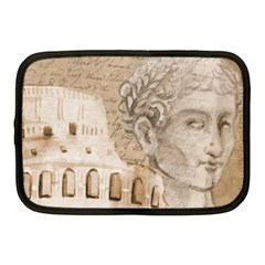 Colosseum Rome Caesar Background Netbook Case (medium)  by Celenk