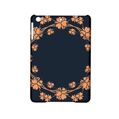 Floral Vintage Royal Frame Pattern Ipad Mini 2 Hardshell Cases by Celenk