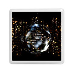 Christmas Star Ball Memory Card Reader (square)  by Celenk