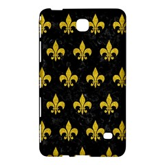 Royal1 Black Marble & Yellow Denim Samsung Galaxy Tab 4 (8 ) Hardshell Case  by trendistuff