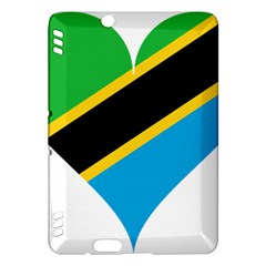 Heart Love Tanzania East Africa Kindle Fire Hdx Hardshell Case by Celenk