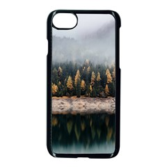 Trees Plants Nature Forests Lake Apple Iphone 8 Seamless Case (black) by Celenk