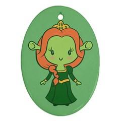Ogress Oval Ornament