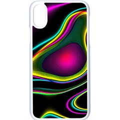 Vibrant Fantasy 5 Apple Iphone X Seamless Case (white) by MoreColorsinLife