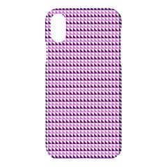 Pattern Apple Iphone X Hardshell Case by gasi