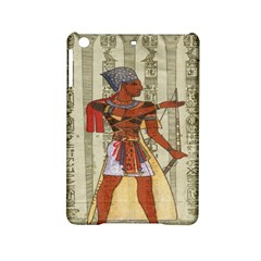 Egyptian Design Man Royal Ipad Mini 2 Hardshell Cases by Celenk