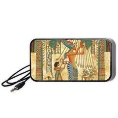 Egyptian Man Sun God Ra Amun Portable Speaker