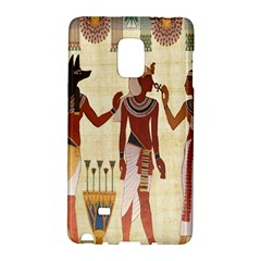 Egyptian Design Man Woman Priest Galaxy Note Edge by Celenk