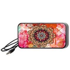 Mandala Art Design Pattern Ethnic Portable Speaker