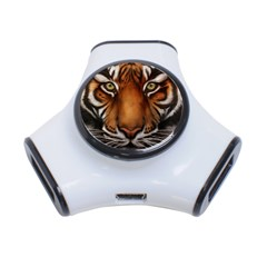 The Tiger Face 3 Port Usb Hub
