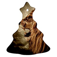 Roaring Lion Ornament (christmas Tree)  by Celenk